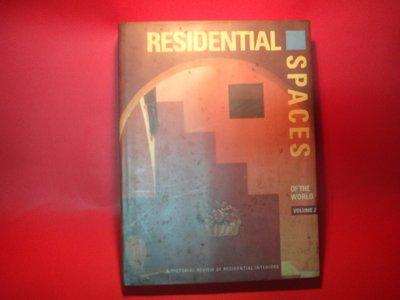 【愛悅二手書坊 01-50】Residential Spaces of the World  Vol. 2
