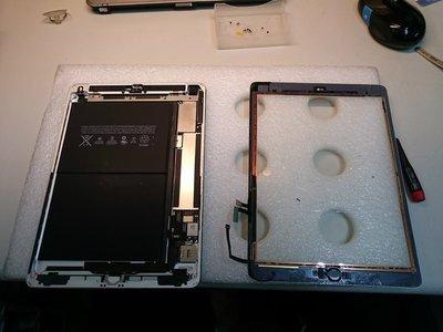 威宏資訊 APPLE 平板維修 iPAD AIR iPAD 1474 1475 第5代 螢幕破裂 換面板 修螢幕 換觸控