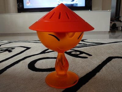 「斷捨離 出清拍賣」全新盒裝  Alessi ASG31 Mandarin榨汁器 橘色