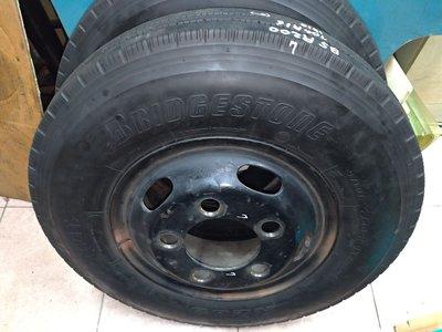 R200 700R16 18年製 含鐵圈可直裝上車 普利司通 堅達 3噸半 貨車 二手 中古 輪 胎 單輪2500元