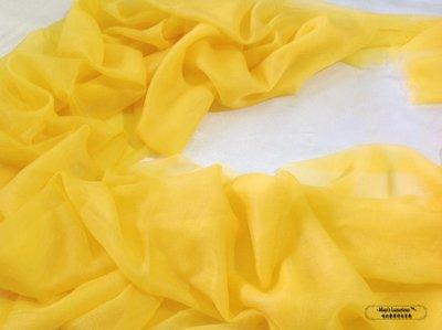 亮眼甜蜜新色金黃芒果100% cashmere300支紗pashmina Shahmina 喀什米爾圍巾披肩