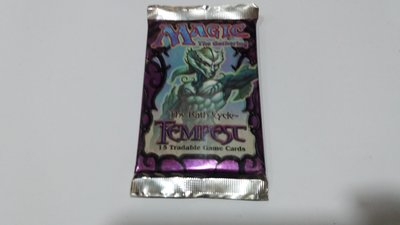 MTG Tempest Booster Pack/全新 暴風雨 補充包