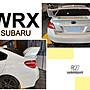 》傑暘國際車身部品《 全新 SUBARU  IMPREZA WRX Sti 尾翼 後擾流 ABS 素材