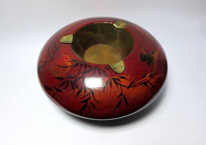 出賣家藏--古早日式漆器煙灰缸