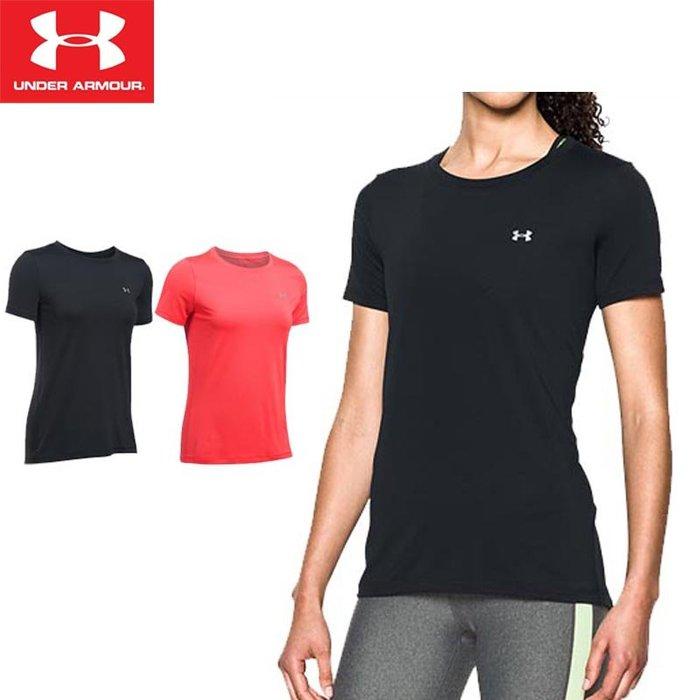Under Armour UA  夏季女子 運動 彈力 緊身 T恤 透氣 短袖