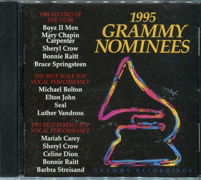 【塵封音樂盒】1995 GRAMMY NOMINEES 葛萊美的喝采