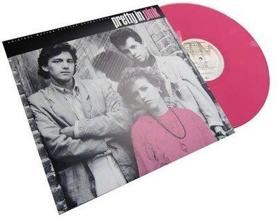 全新美版黑膠- 紅粉佳人-電影原聲帶(美國限量粉紅彩膠) Pretty in Pink / OMD /New Order