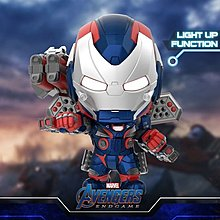 Hot Toys: End game - Iron Patriot Cosbaby (COSB656) Hottoys