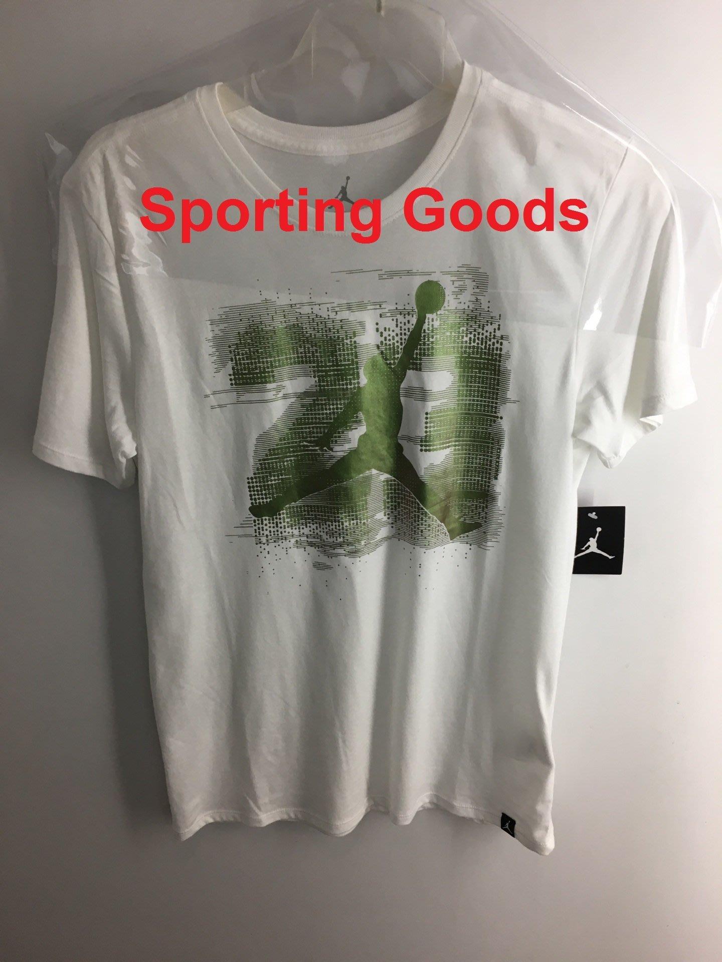 S.G JORDAN AJ 13 ELEVATED 白 運動 短袖 T恤 男生 833958-100