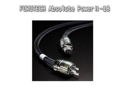 台中『崇仁音響發燒線材精品網』日本 FURUTECH Absolute PowerⅡ-18 ~ NEW 2009