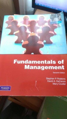 《Fundamentals of Management 7/e》ISBN:0135095182│華泰│Robbins