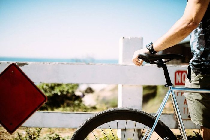 【鐵馬假期】 美國 6KU 鋼管 單速車 入門款 場地車 可配色(電鍍銀/黑) LOOP