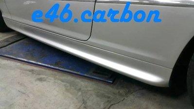 【BMW E46精品館】 BMW E46 原廠 雙門 2D 側裙 四門 雙門 通用