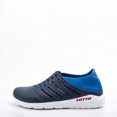 凱喬美|LOTTO 世足深藍法國洞洞鞋#LT8AMS6756