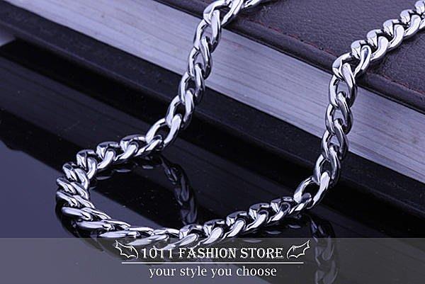 韓國 男性 / 女性 西德鋼 / 鈦鋼 不鏽鋼 扁形 個性項鍊 不鏽鋼項鍊 BH-021904