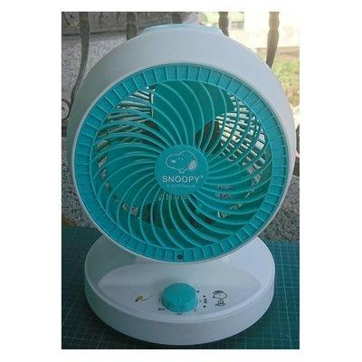 《省您錢購物網》福利品~史努比 SNOOPY 可愛造型循環扇