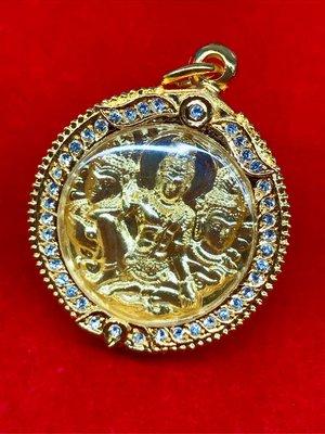 泰國澤度金名師 龍波龍奈 親自開光加持極度霸氣精緻 澤度金