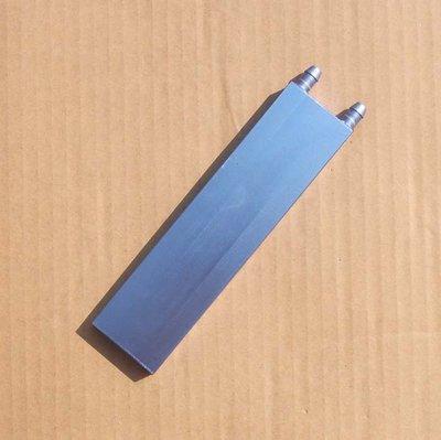 【玩具貓窩】40*160*12mm鋁製水冷頭 致冷晶片專用水冷頭 致冷片 液冷水板 昆蟲箱