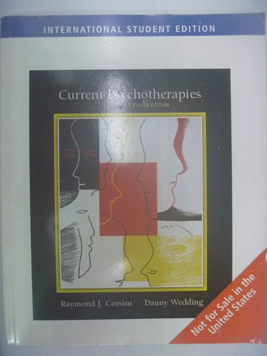 【月界】Current Psychotherapies-8/e_Raymond Corsini_心理治療 〖心理〗AIE