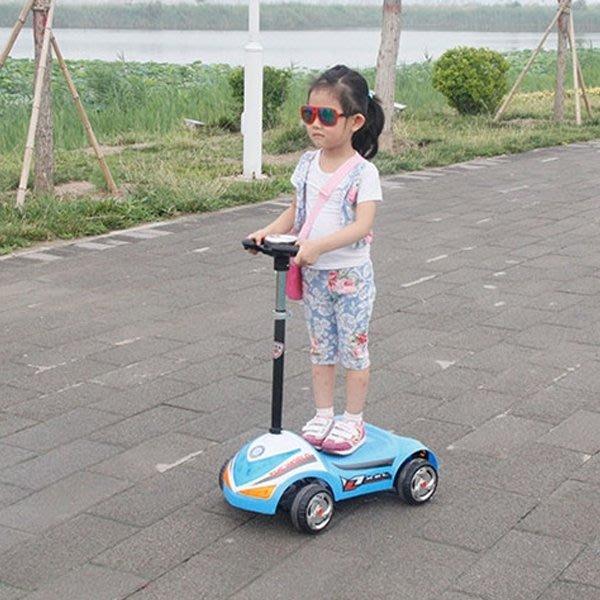 5Cgo【批發】含稅會員有優惠 522606955742 兒童電動滑板車電瓶車迷你平衡代步車玩具汽車音樂閃光3-10歲