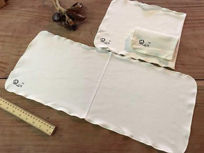 【光合作用】QC館 有機棉長方巾 環保安心 100%台灣製造 愛地球 SGS eco 無漂染認證