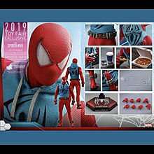 Hottoys VGM34 vgm34 Spiderman Scarlet Spider Suit Ver 動漫展 蜘蛛俠 緋紅蜘蛛戰衣 hot toys