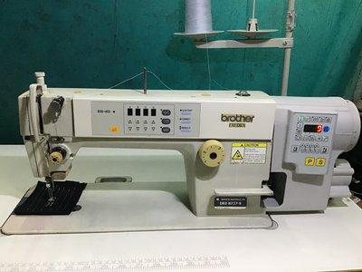 工業電腦縫紉機 日本制 兄弟BROTHER*737電腦付全新保固一年, 適合各種布薄厚、贈LED工作檯燈