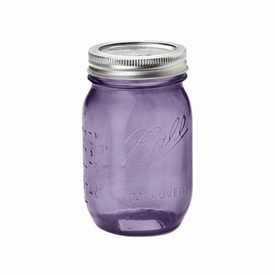 Ball mason heritage collection pint jars【小妹賣萌】紫色 料理儲物罐 16OZ