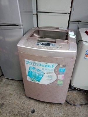 [家電王國]Lg2手15公斤變頻單槽洗衣機2008出廠玻璃面板