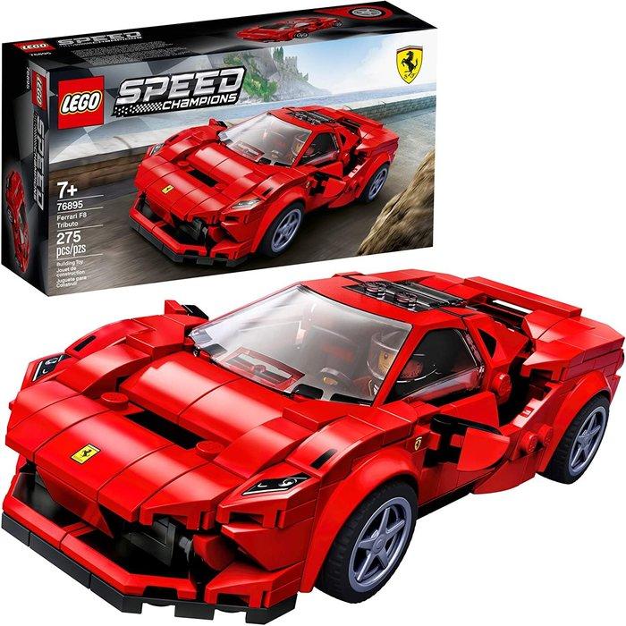 預購 美國帶回 Lego 樂高 積木 超級賽車系列 法拉利F8 跑車模型 夢幻跑車 聖誕禮 生日禮