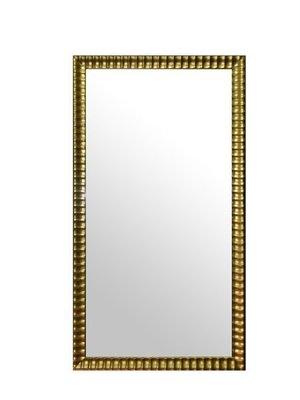 ◎『佳家畫廊』→貝克波浪-金/銀色款【含框60*120cm】穿衣鏡/掛鏡◎訂製鏡子