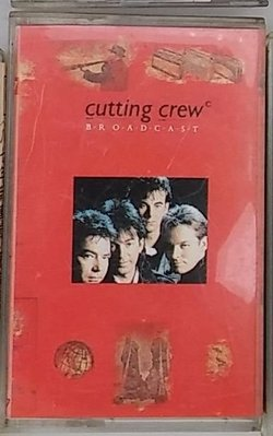 【Jan17】1錄音帶 卡帶《Broadcast – Cutting Crew》Vergin│Rock│可能沒附歌詞