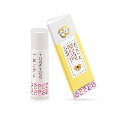 Moody Mood Nectarine Blossom 杏桃花與蜂蜜香水膏 5g | 韓國製造 |女性香味 | 手工製