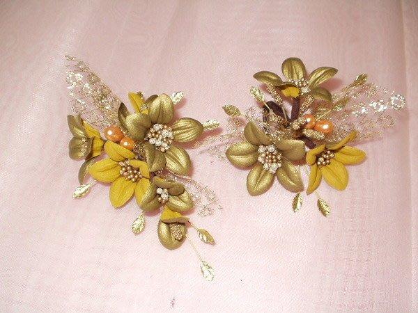 B. & W. world *美美的花飾***R13064*古典氣質多用花飾*兩樣情*復古風情系列  ***可以單買