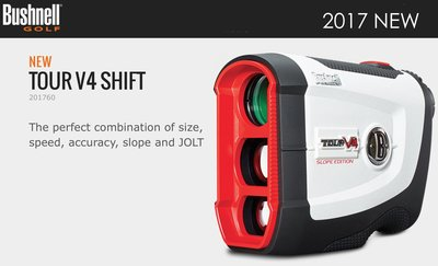 【eYe攝影】2017最新 公司貨 Bushnell Tour V4 Shift版 雷射測距儀 Slope Jolt切換