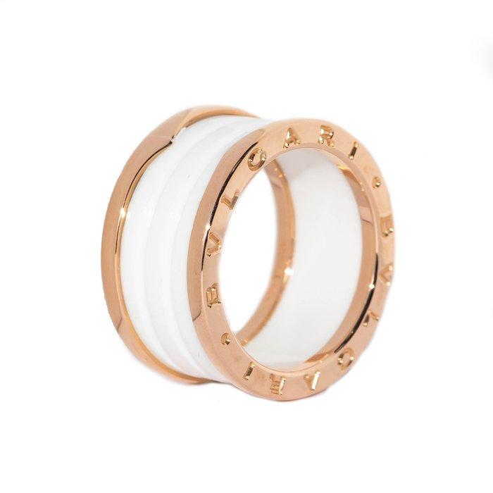 【JHT 金宏總珠寶/GIA鑽石專賣】正版真品BVLGARI B.ZERO1 RING #58(JB52-B01)