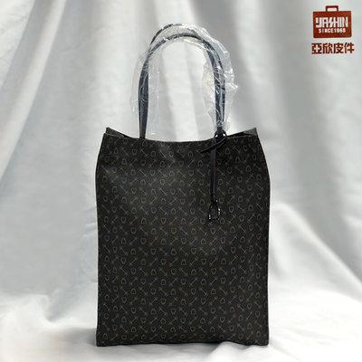 ☆東區亞欣皮件☆ WHY 購物袋(大)  / 經典咖啡色 / 深藍色