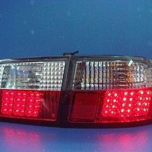 小亞車燈※全新 超炫版 喜美 K6 4D 2D 3D 黑框 LED 尾燈 組