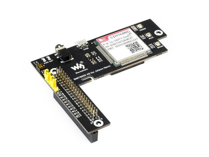 【莓亞科技】Jetson Nano 4G 擴充模組(SIM7600G-H, 全球通, 含稅現貨NT$2188)