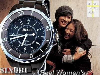 [三件免運]SINOBI今生今世香奈爾 J12 款造型情人對錶四九 一元起標