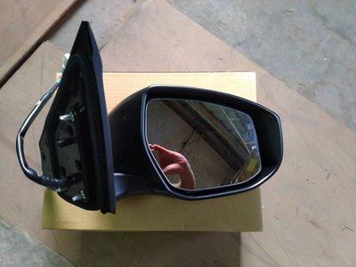 WR汽車零件~SUPER SENTRA B17  電動電折有燈  右 後視鏡 後照鏡