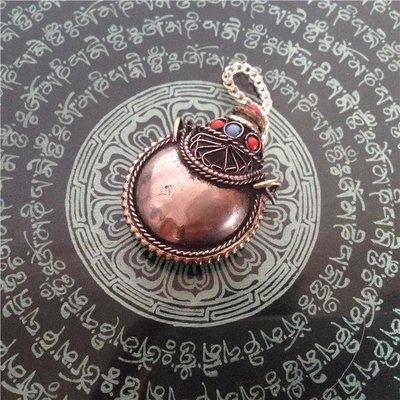 【香巴拉】尼泊爾手工白銅鼻煙壺