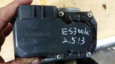 ES300h 2013 2.5 camry 原廠 節氣門 電子節氣門 22030-36020