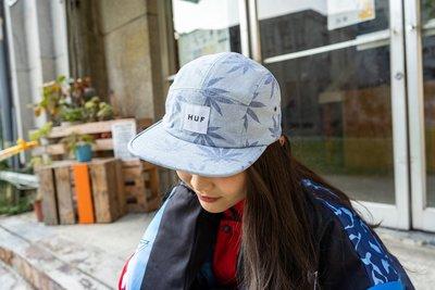 【A-KAY0 5折】HUF 男女 PLANTLIFE VOLLEY 五片帽 藍【HT62037BU】