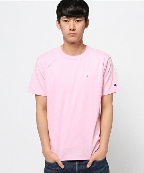 【Shopa】現貨 特價 日本 Champion 素面 咬標 Logo T恤 C3-H359