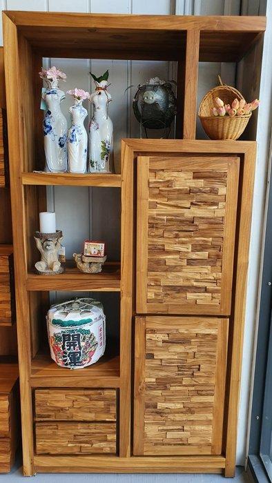 幸福家傢俱 柚木書櫃(IFA RKG 100),精品柚木.柚木家俱,全實木傢俱