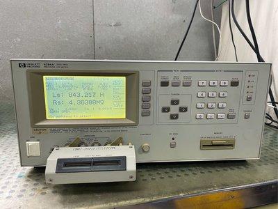 HP 4284A/16047A test fixture Precision LCR Meter 阻抗分析儀(示波器)