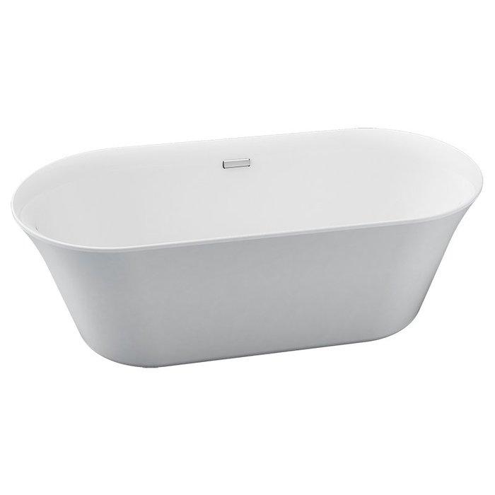 浴室的專家 *御舍精品衛浴 無接縫 橢圓形 獨立浴缸 160公分 MO-60024