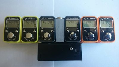 6 pieces LCD digital tally counter operates by 3A battery