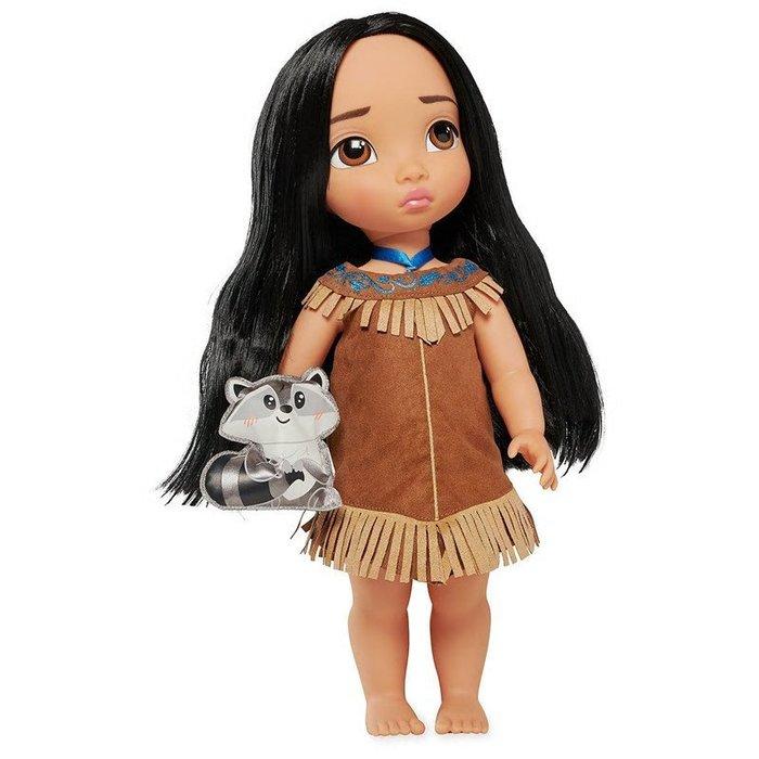 【100%美國迪士尼正品】Disney Princess Pocahonta 風中奇緣 寶嘉康蒂公主 Q版大眼娃娃玩偶